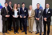 Gruppenbild der Preisträger der SAMPE-Innovationspreise 2014