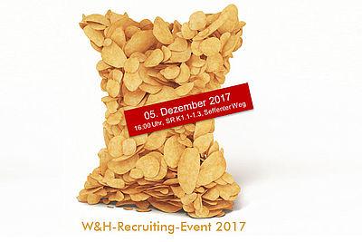 Einladung zum Recruting-Event der Windmöller & Hölscher Group am IKV