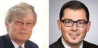 Awardees: Prof. Dr.-Ing. Walter Michali and Dipl.-Ing. Andreas Neuß