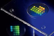 Optische Mikrostrukturen - direkt von der Kavitätsoberfläche abgeformt