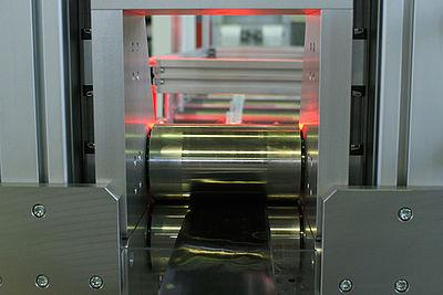 Tapeanlage im FVK-Technikum des IKV