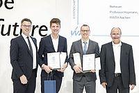 Dr. Maximilian Adamy mit WAK-Röchling-Preis 2019 ausgezeichnet