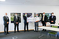 Max Weihermüller, M.Sc., accepted the VDI Young Talent Award in recognition of his outstanding master's thesis.