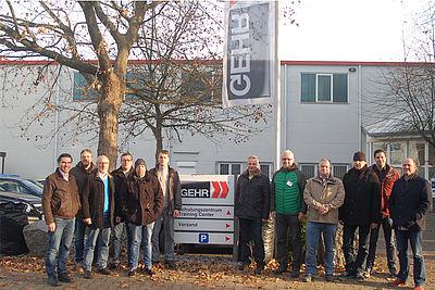 IKV Kunststoffausbilder beim Ausbilderseminar in Mannheim