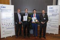 Dr. Torben Fischer erhält Brose-Preis 2017 | Bild: Daniel Loeb
