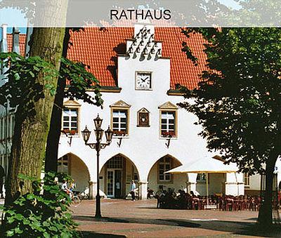 Rathaus der Stadt Haltern am See