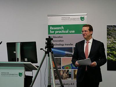 Professor Christian Hopmann eröffnet die FBG 2020