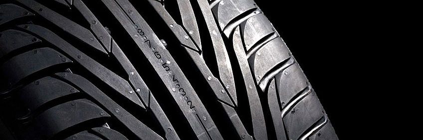 Rubber: Car tyres are a common application