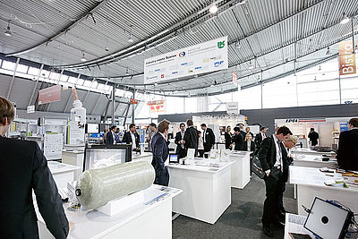 "The Institute's stand will again be located on the ""Industry Meets Science"" area."