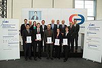 WAK-Preisträger 2014 und Vertreter der Stifter | Bild: Silvia Kriens Photography; WAK
