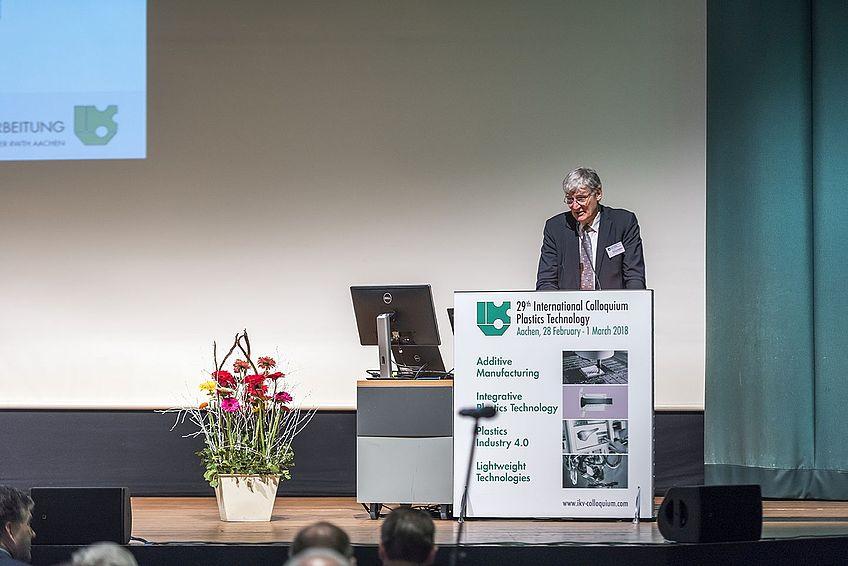 Univ.-Prof. Dr.-Ing. Ernst Schmachtenberg, Rektor der RWTH Aachen
