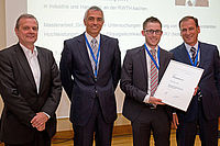 Preisverleihung des DKG-Förderpreis 2014 für Florian Lemke