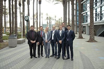 v.l.n.r. Dr.-Ing. Nafi Yesildag, Dr.-Ing. Torben Fischer, Sarah Schäfer, Stefan Haase, Nicolai Lammert, Pascal Brandt, Philipp Ochotta