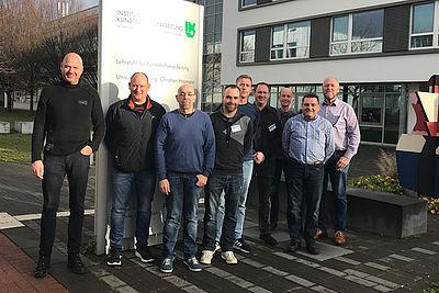 Die Teilnehmer der Rhetorikschulung 2018 am IKV.