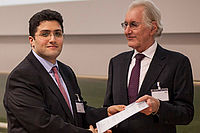 Preisverleihung des SEW-Eurodrive Studienpreises an Nafi Yesildag, M.Sc.