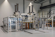 Large-scale industrial manufacturing equipment for SMC is also available in AZL´s new research facility at RWTH Aachen Campus
