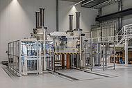 Großserienproduktionsequipment für SMC ist auch in der neuen Forschungseinrichtung des AZL auf dem RWTH Aachen Campus vorhanden