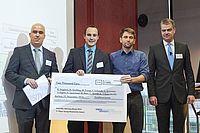 Young Researcher Award 2014 auch an zwei IKV-Wissenschaftler | Bild: Exzellenzcluster