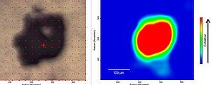 Fremdpartikelanalyse mittels Mikroskop-FT-IR-Spektroskopie