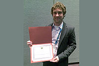 Awardee of the ANTEC 2015 Best Paper Award: Dipl-Ing. Daniel Kaltbeitze