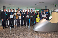 Dipl.-Ing. Peter Schneider from IKV (third from left) during the presentation of the award in Bonn (photo: FSK e.V.)