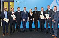 Verleihung der Förderurkunde für Delfin Projekt in Berlin