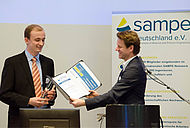 Jonas Müller receives SAMPE Innovation Award