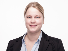 Photo of Lisa Scholle, product engineer at KAUTEX TEXTRON GmbH & Co. KG