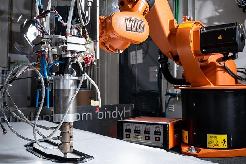 MAT-LAAM: Large Area Additive Manufacturing