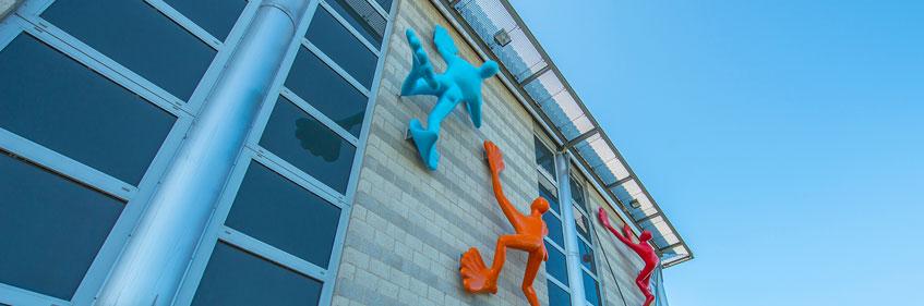 Gebäude des IKV auf dem Campus Melaten in Aachen