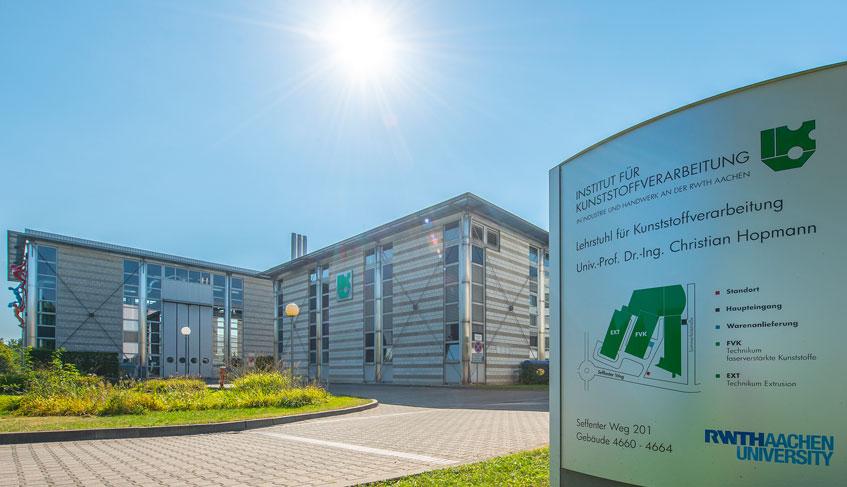 KV-Technika für Extrusion und Faserverstärkte Kunststoffe auf dem Campus Melaten