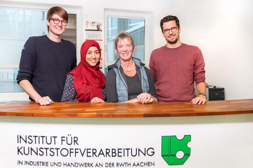 Das Team der Studienbetreuung am IKV