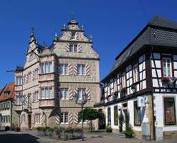 Bad Bergzabern an südlichen Weinstraße