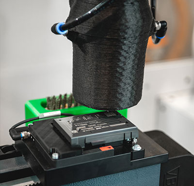 additively manufactured anti-slip strip made of TPU