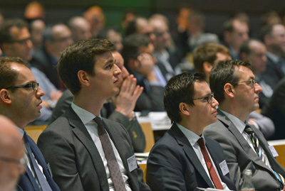Publikum beim Internationalen Kolloquium Kunststofftechnik 2018 in Aachen