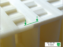 Determining technical properties of 3D print components