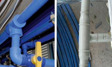 Untersuchung von Haustechnik-Rohrleitungen