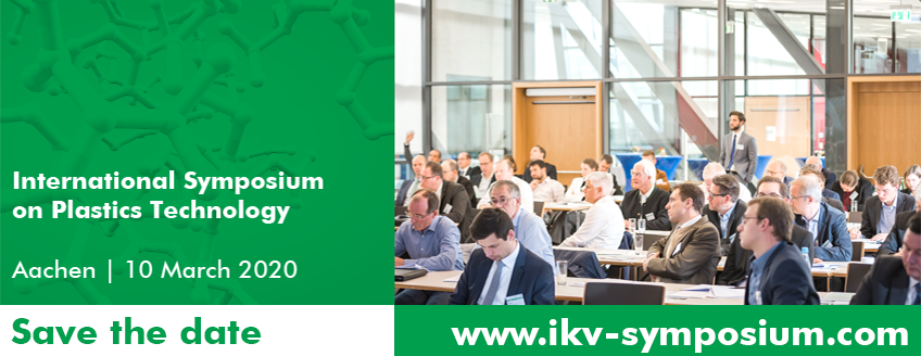 Save the Date for International Symposium Plastics Technology